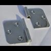 Türscharnier 88 x 65 mm, Rechts, aushebbar mit Bohrungen für 4 mm Senkkopfschrauben