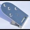 Standscharnier 158 x 70 mm mit Bohrungen                  für 5 mm Senkkopfschrauben,                  Materialstärke 3,0 mm