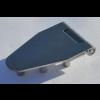 Standscharnier 107 x 45 mm mit                  Gewindebuchsen M 5, 12 mm lang ,                 Materialstärke 2,0 mm