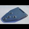 Standscharnier 158 x 70 mm, mit Bohrungen                  für 5 mm Senkkopfschrauben,                 Materialstärke 2,5 mm