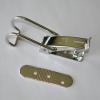 Hebelverschluß mit Rundbügel und Rastplatte zum Verstellen +/- 4 mm, Spannbereich 22 mm, ohne Gegenplatte, abschließbar