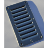 Ventilator louvers 120 x 220 mm, air pass 30 cm² with holes for 4 mm counter sunk screws